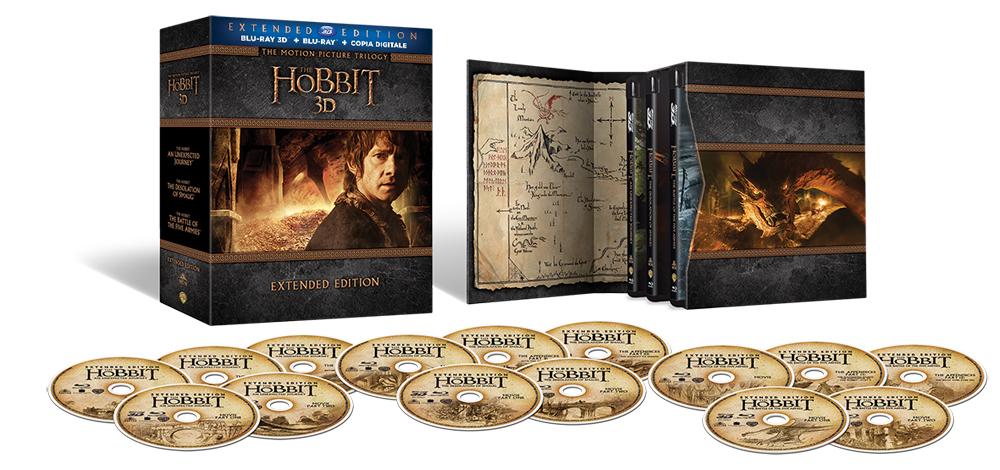 Der Hobbit Blu Ray Box
