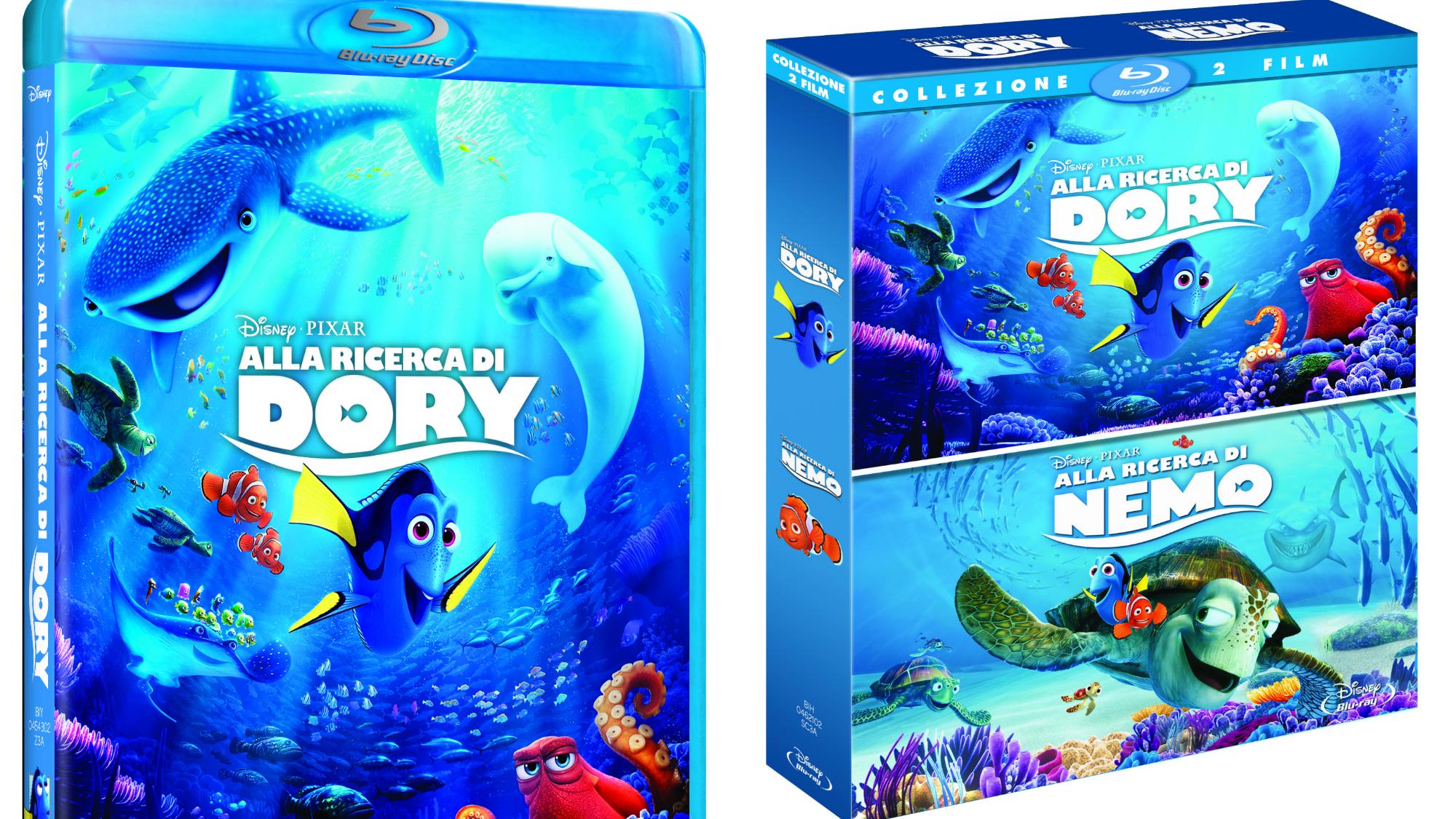 alla ricerca di dory in dvd e blu ray i segreti del polpo