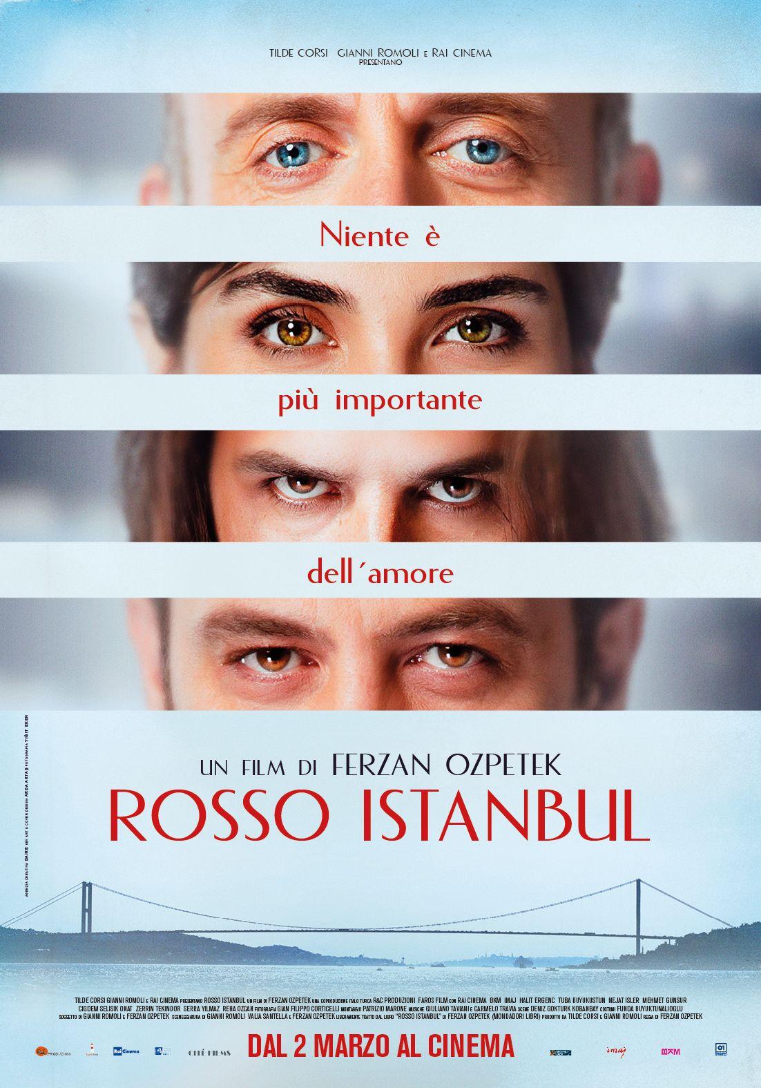 Rosso Istanbul Trailer E Poster Del Nuovo Film Di Ferzan Ozpetek Film It