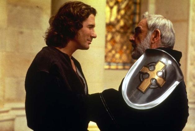 Richard Gere e Sean Connery ne 'Il primo cavaliere' (1995)