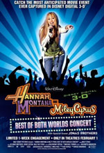 Hannah Montana and Miley Cyrus: Best of Both Worlds Concert - Locandina