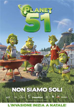 Planet 51 - Locandina