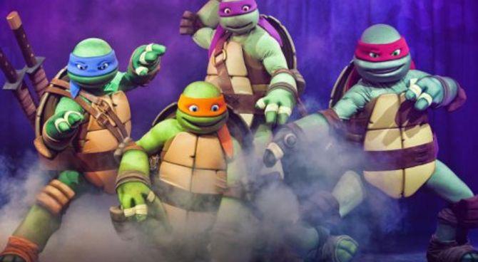 Le tartarughe ninja in anteprima a lucca