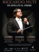 Riccardo Muti al Cinema - Locandina