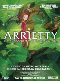 Arrietty - il mondo segreto sotto il pavimento - Locandina