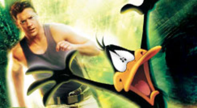 Looney tunes back in action film