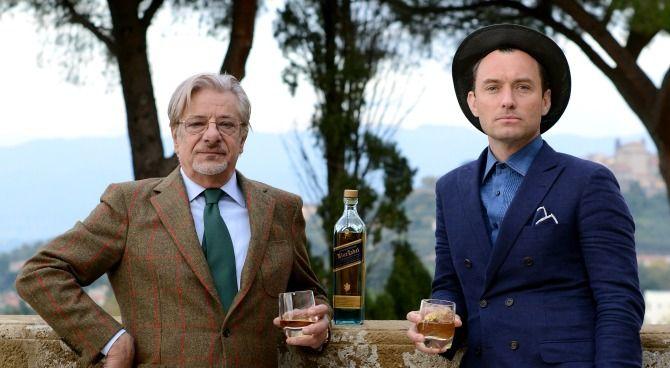 Jude Law e Giancarlo Giannini nel cortometraggio del whisky \'Johnnie ...