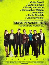 Seven Psychopaths - Poster