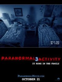 Paranormal Activity 3 - Poster