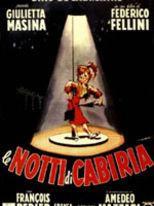 Le notti di Cabiria - Locandina
