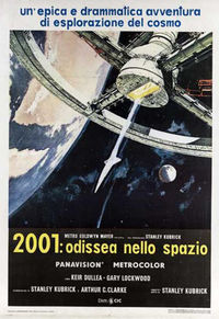 2001: odissea nello spazio - Locandina