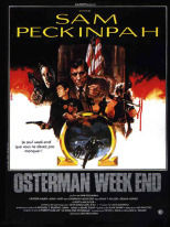 Osterman Weekend locandina