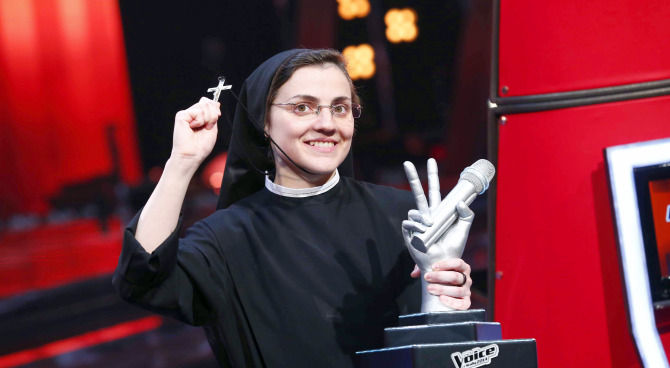 Scomparsi dalla TV: che fine ha fatto Suor Cristina di The Voice?