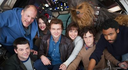Star Wars Han Solo cast