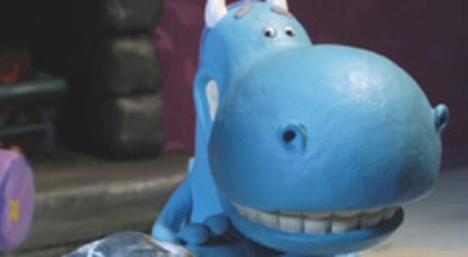 Drago piccolo amico blu film