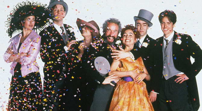 Risultati immagini per Il film quattro matrimoni e un funerale