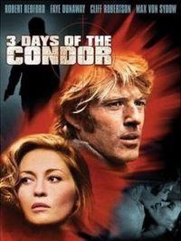 I tre giorni del condor - Locandina