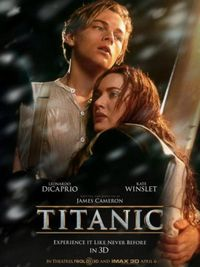 Titanic in 3D - Poster