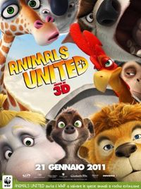 Animals United 3D - Poster