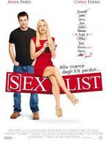 Sex list - Locandina