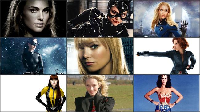 Cinema e supereroi: le 20 donne più sexy