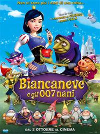 Biancaneve e gli 007 nani - Locandina