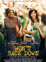 Won't Back Down - Poster