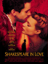 SHAKESPEARE IN LOVE - Locandina