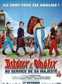 Asterix e Obelix al servizio di sua maestà - Poster Francese