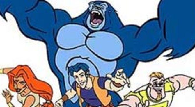 Italia king kong a cartoni animati film