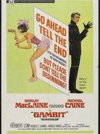 Gambit - Grande furto al Semiramis - Poster