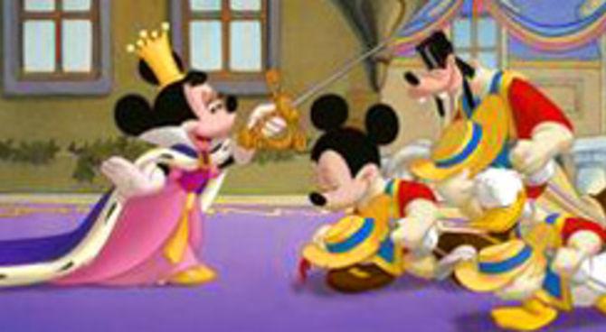 Disney topolino paperino pippo i tre moschettieri film