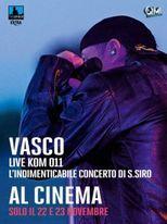 Vasco Live Kom 011 - Locandina