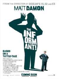 The Informant - Locandina