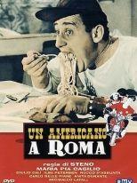 Un americano a Roma locandina