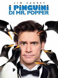 I Pinguini di Mr. Popper - Locandina