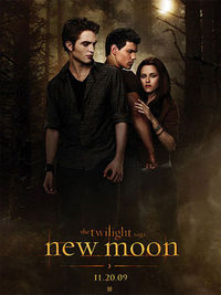 The Twilight Saga: New Moon - Locandina Ufficiale