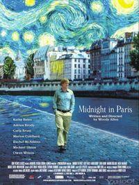 Mezzanotte a Parigi - Poster
