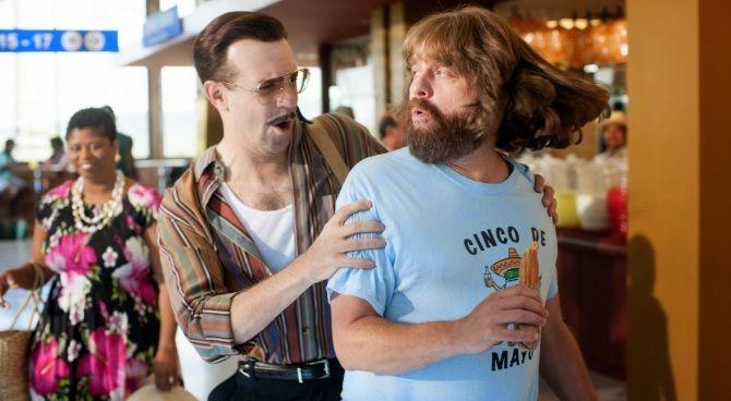 Trailer: Galifianakis e Owen Wilson rapinatori in Masterminds