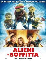 Alieni in Soffitta - Locandina