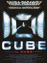 Cube - Il cubo - locandina