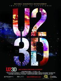 U2 3D - Locandina