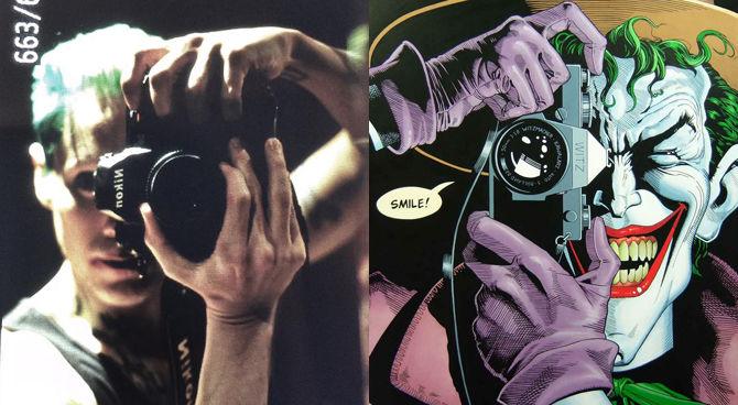 Foto: il Joker di Jared Leto omaggia The Killing Joke