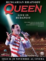 Hungarian Rhapsody: Queen Live in Budapest - Locandina