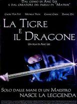 la tigre e il dragone - Locandina