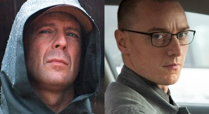 Bruce Willis, James McAvoy